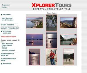 design proiect web Explorer