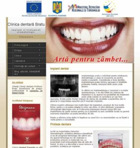 design site clinica dentara