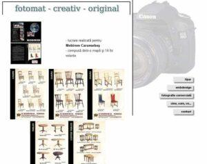 web design cu fotografii