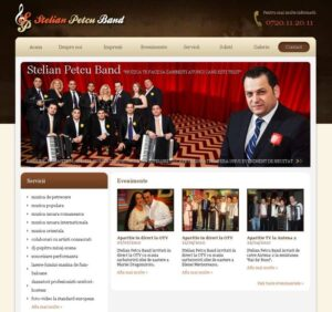 administrare site muzica petrecere