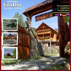 redesign site Vilador